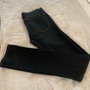 J brand black pencil leg